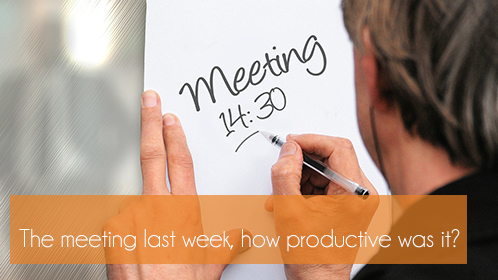 9 Golden Guidelines for a Productive Meeting