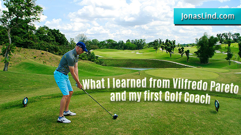 What I learned from Vilfredo Pareto and my first golf coach